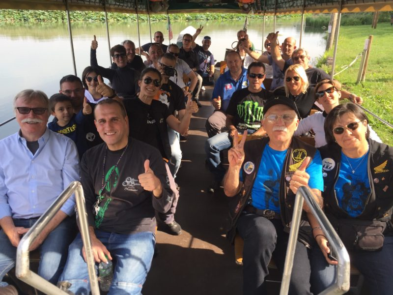 italiainpiega-motoraduno-lumacabike 2017-sabato 23 settembre-escursione mincio grazie mantova