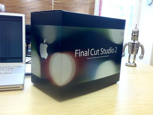FinalCutStudio2 0001 Final Cut Studio: Il prossimo aggiornamento secondo Jobs sarà spettacolare