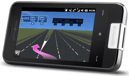 garmin asus nuviphone 001 Garmin Asus: Presentato il nuovo M10, uno smartphone all in one