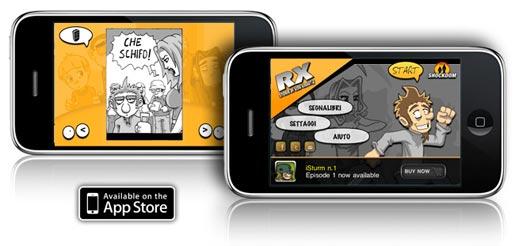 rx RX   Storie di Vita Vissuta: un nuovo divertente fumetto da sfogliare con iPhone