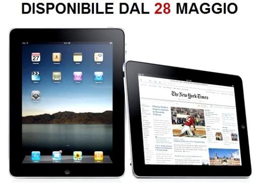 apple ipad 28maggio 0011 L'iPad in Italia sarà in vendita solo dal 28 Maggio, dal 10 Maggio possibile il preordine