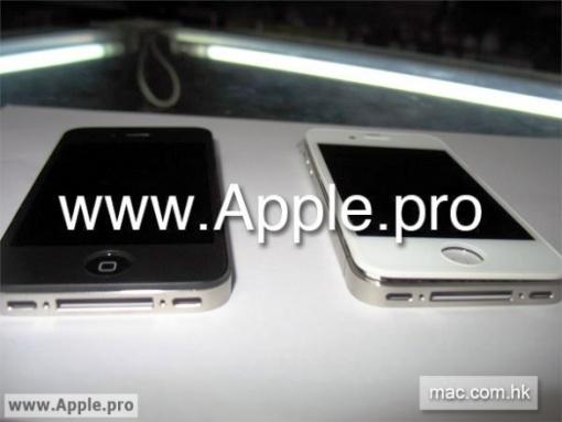 iPhone4G white 001 iPhone 4G/HD: In rete girano anche le foto della versione White