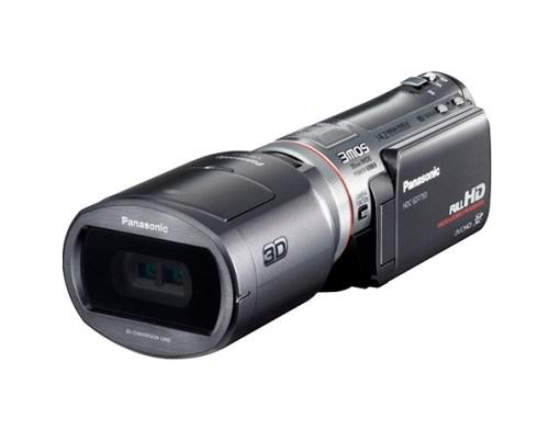 Panasonic HDC SDT750 001 500x402 Panasonic presenta HDC SDT750, la prima camcorder 3D/HD consumer al mondo
