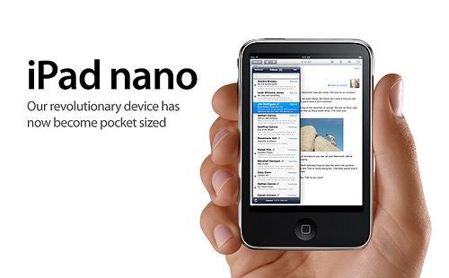 ipad nano 001 Apple: In arrivo due nuovi iPad Nano con schermo OLED da 5 e 6/7 pollici?
