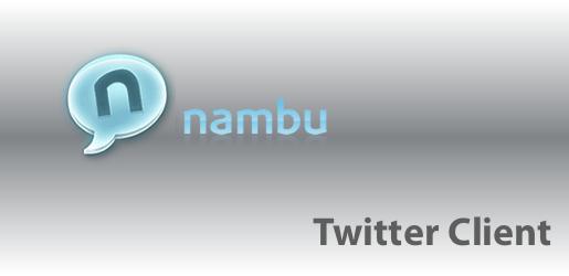 nambuiontro Nambu 2.0, ottimo client per Twitter gratuito.