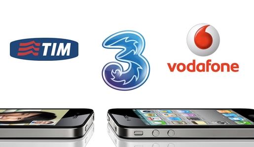 tariffe iphone4 3 Italia, Vodafone e TIM svelano le tariffe per liPhone 4