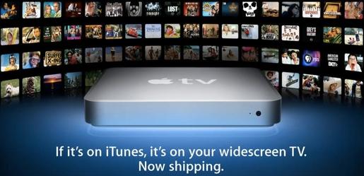 appletv1 Apple TV, in arrivo a 99$ con supporto alle applicazioni dellApp Store?