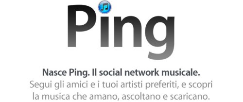 Apple ping logo 001 500x210 Websense: Ping è stato preso di mira dagli Spammer si consiglia di fare molta attenzione