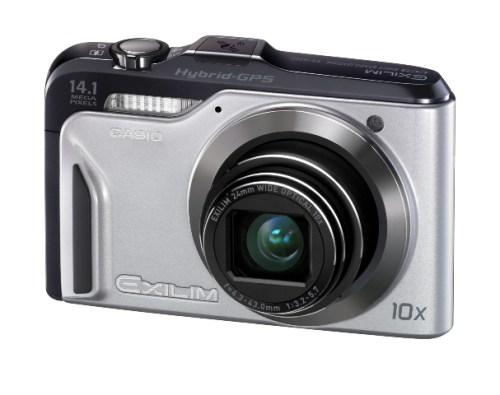 EXILIM EX H20G 500x395 Casio presenta EXILIM Hi Zoom EX H20G, la prima fotocamera al mondo dotata di un sistema Hybrid GPS