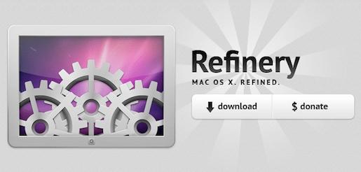 introrefinory Refinery, personalizziamo Mac OS X senza far danni.