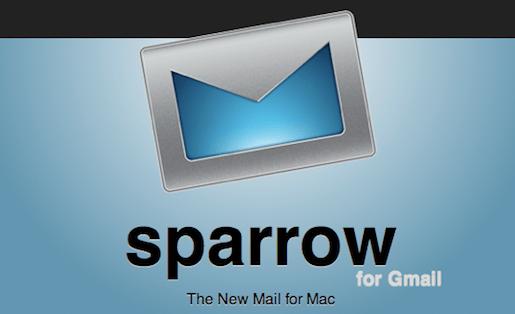 Sparrowintro Sparrow, gestisci le tue GMail semplicemente.