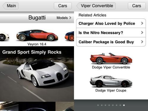 carbuzz2 500x375 CarBuzz, foto e recensioni delle migliori Auto, sul tuo iPhone gratis