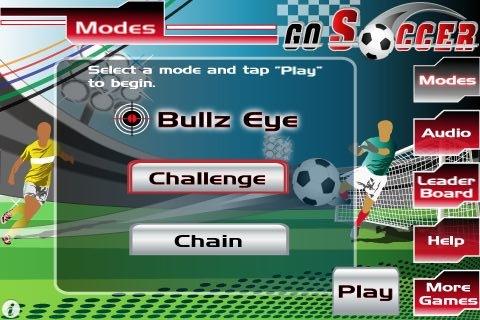 gosoccer2 Go Soccer, tiro al bersaglio con un pallone da calcio