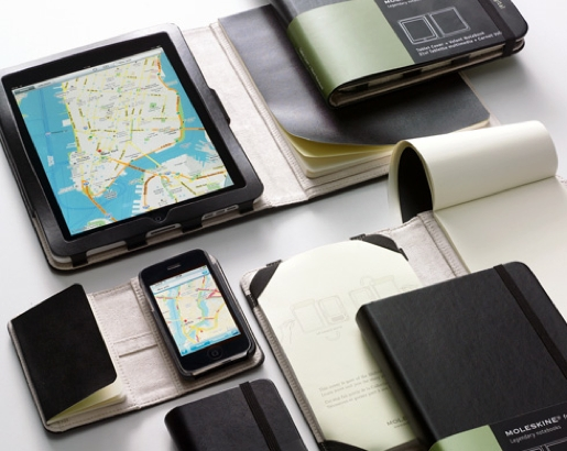 moleskine iphone ipad Moleskine presenta le Digital Cover per iPhone ed iPad