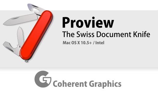 proview1 Proview, un completo editor PDF per Mac