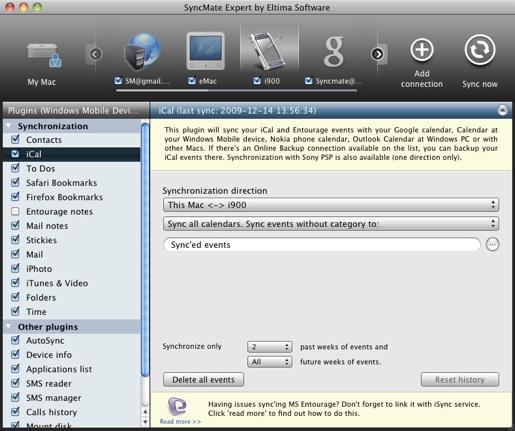 syncmate SyncMate, sincronizza il tuo Mac con qualunque dispositivo