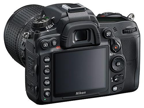 NikonD7000 002 Nikon D7000: Nuova reflex con sensore CMOS DX da 16,2 MP, cpu EXPEED 2 e video FULL HD