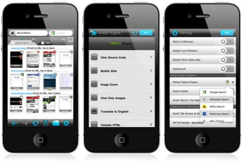 360 3 500x332 360 Web Browser: unalternativa originale e completa a Safari su iPhone