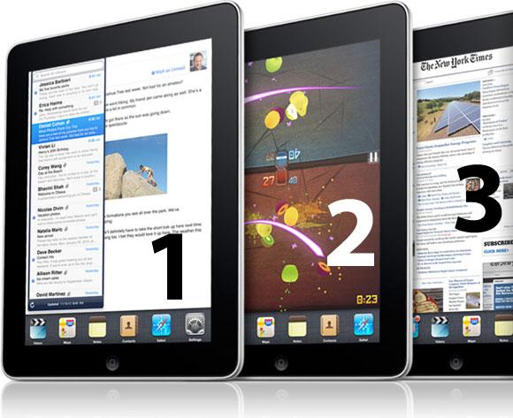 ipad123 iPad 2: le caratteristiche più attese fra i Rumors della rete