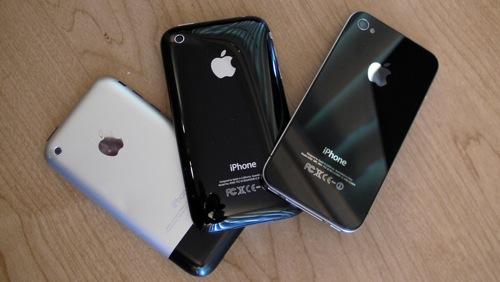 iphone 2g 3g 4 001 Secondo RIM non era avverabile concepire un terminale come iPhone