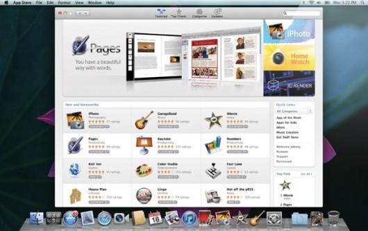 Mac App Store 530x333 Mac App Store: ecco alcune immagini in anteprima