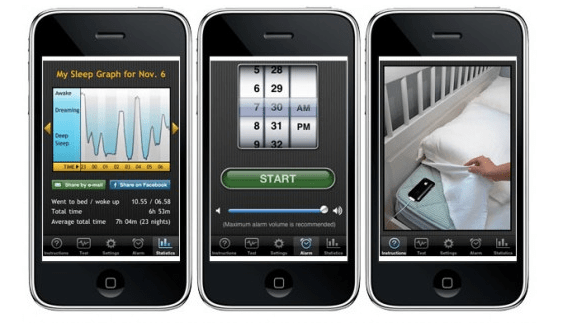 Schermata 2011 01 11 a 15.40.11 Sleep Cycle alarm clock: uninteressante alternativa alla sveglia integrata di iOS