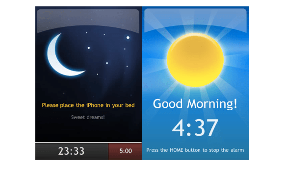 Schermata 2011 01 11 a 15.42.48 Sleep Cycle alarm clock: uninteressante alternativa alla sveglia integrata di iOS