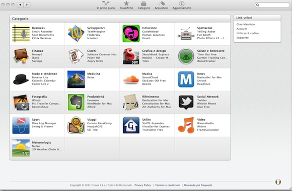 categorie Mac App Store: uno sguardo più da vicino