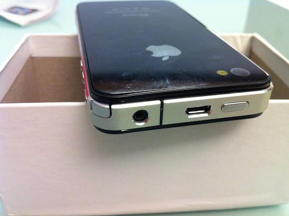charger Prova di una copia delliPhone 4 made in China