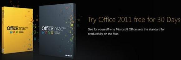 office triall Office 2011: disponibile la versione completa di prova di 30 giorni