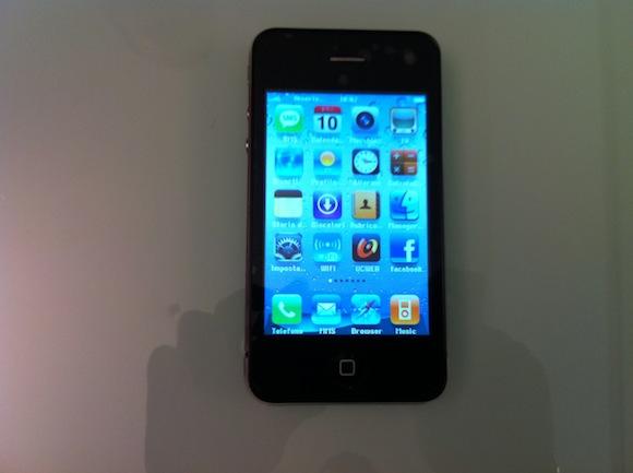on good1 Prova di una copia delliPhone 4 made in China