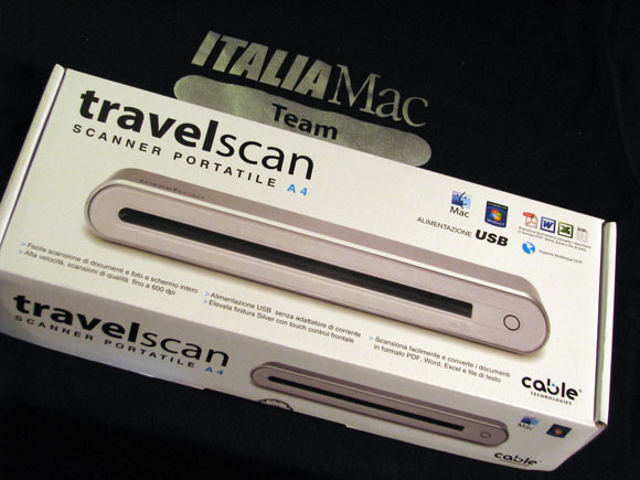 02 TravelScan: lo strumento ideale per digitalizzare immagini e documenti ovunque vi troviate