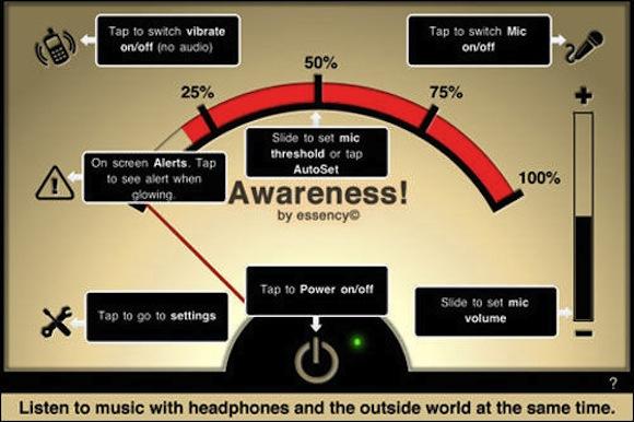 Awareness2 Awareness! The Headphone App: per non isolarci dal mondo con le cuffie