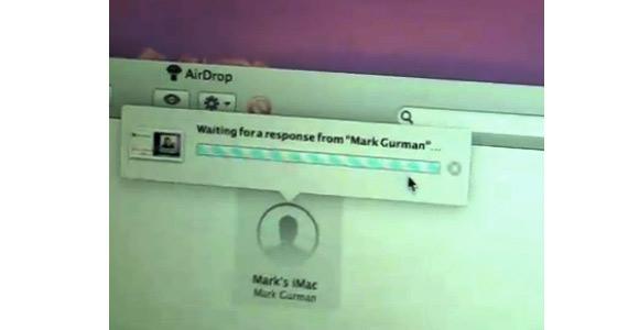 air2 Mac OS X Lion: AirDrop in azione!