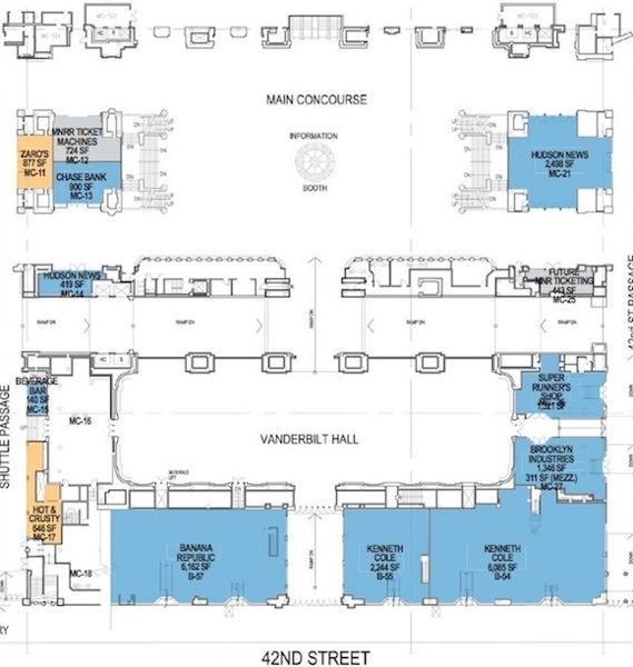 grand central floor plan Nuove conferme sullapertura di un nuovo Apple Store a Manhattan, più grande di quello londinese