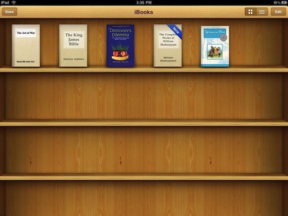ibooks iBooks: rilasciato un nuovo aggiornamento