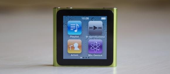ipod nano 6g2 iPod nano sesta generazione: primo aggiornamento software