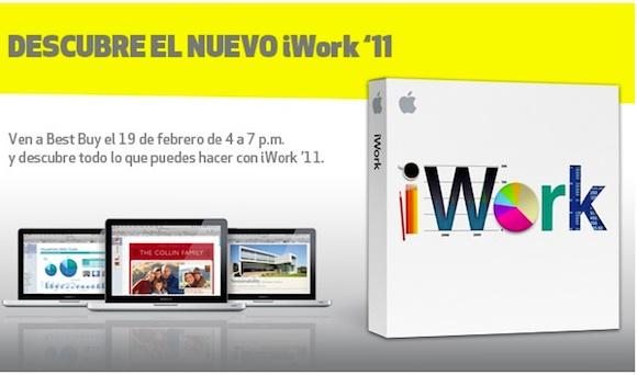iwork iWork 11: secondo Best Buy Mexico, dovrebbe uscire il 19 febbraio