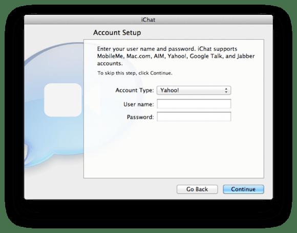 macosxliondevpreview114 670x527 Mac OS X Lion: iChat supporta Yahoo! IM, ha un menu stile iOS e nuove funzionalità di anteprima