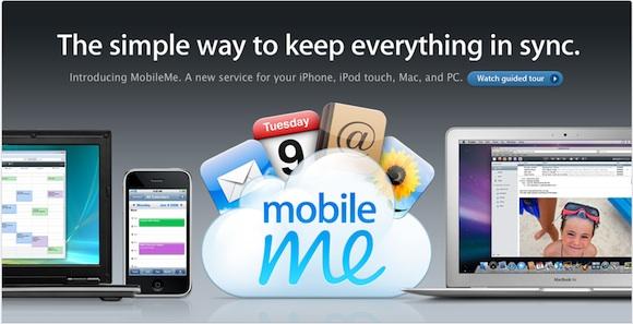 mobile me Niente più MobileMe nei negozi: che sia il preludio di un nuovo servizio gratuito?