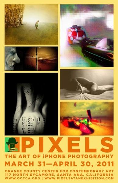 pixels iPhoneography LOrange County Center di arte contemporanea della California organizza la prima mostra di foto realizzate con iPhone