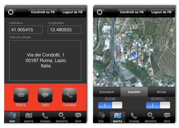sos SOS Localization: unutile applicazione per le situazioni di emergenza