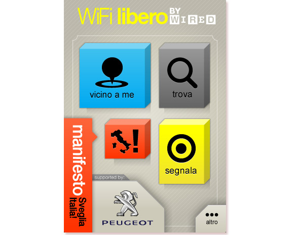 wifi2 Wired WiFi libero: Sveglia Italia!