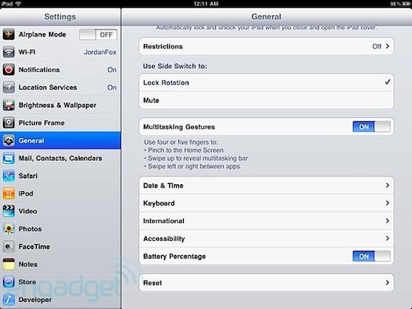 2e28c ipad multitasking gestures eng iPad: in iOS 4.3 è possibile attivare le gesture a quattro o cinque dita