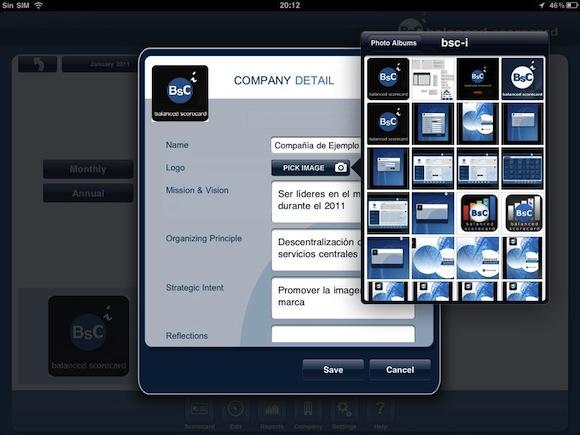 IMG 0074 Balanced Scorecard: applicazione per iPad in grado di analizzare i dati BI aziendali