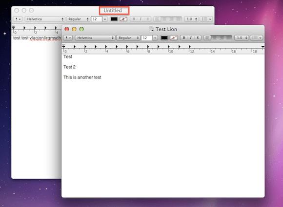 Screen Shot 2011 02 26 at 3.52.48 PM Mac OS X Lion: Versions e Auto Save semplificano le procedure di salvataggio dei documenti