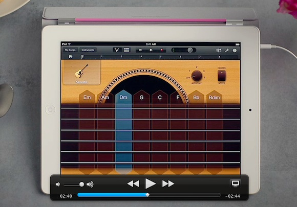 garageband Dal sito Apple tour guidati su Garageband, iMovie e iBooks per iPad