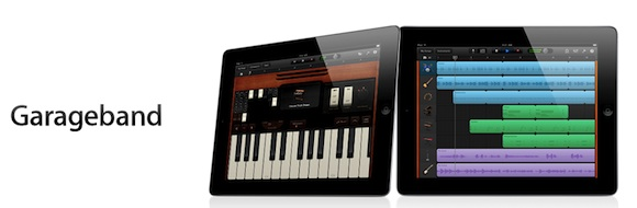 garageband1 Disponibili in App Store le versioni di iMovie e GarageBand per iPad