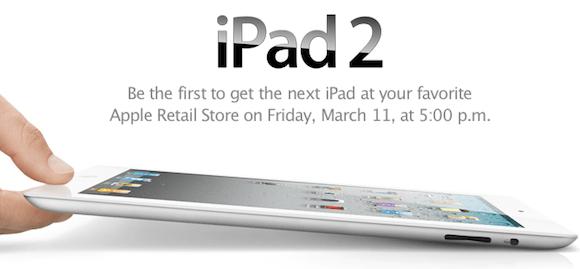 this Apple potrebbe vendere 600.000 iPad 2 nel primo fine settimana del lancio