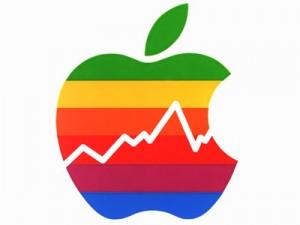 Apple logo graph 300x225 Apple e i risultati finanziari da capogiro